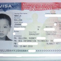 Visa L-2 cho người phụ thuộc