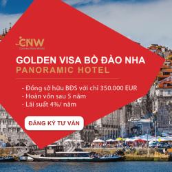 Panoramic Hotel - Dự án đột phá thứ 4 của Mercan Chương trình Golden Visa Bồ Đào Nha