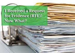 RFE, request for evidence, NOID