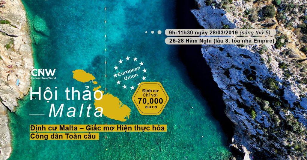 Định cư Malta - Hiện thực hóa giấc mơ công dân Châu Âu