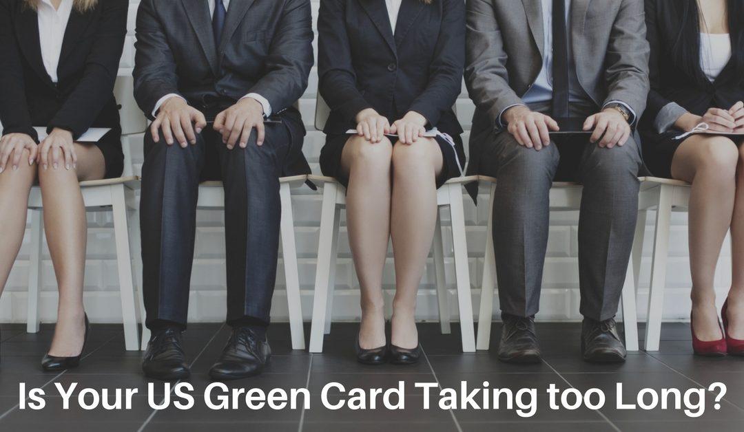 Bạn phải chờ đợi thẻ xanh EB-5 quá lâu vì tồn đọng visa EB-5?