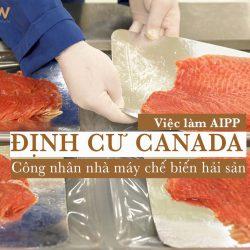 Định cư Canada - Việc làm AIPP tháng 9/2020: Công nhân nhà máy chế biến hải sản