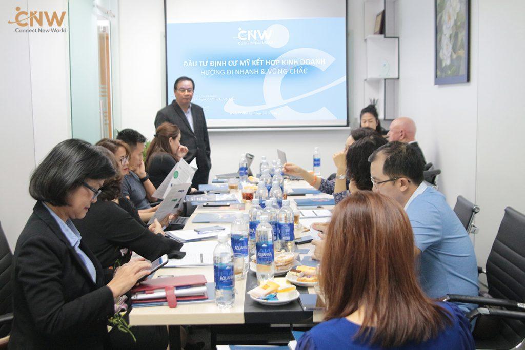 Nhà đầu tư Việt quan tâm chọn lựa chương trình EB-5 với CNW
