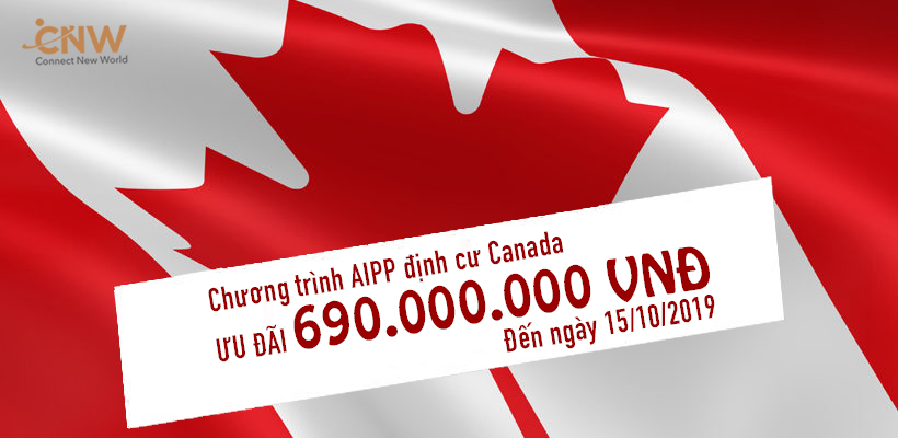 Định cư Canada AIPP chi phí thấp sở hữu thẻ PR