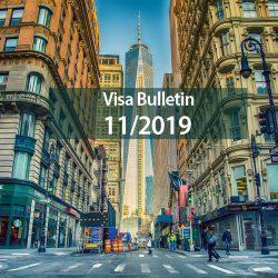 Bản tin thị thực Mỹ Visa Bulletin tháng 11/2019: Tiếp tục xét duyệt hồ sơ đầu tư EB-5 qua trung tâm vùng