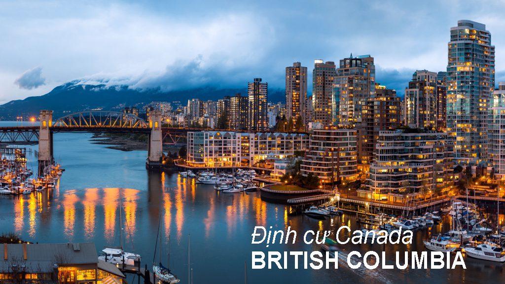 Chương trình đề cử tỉnh bang BC PNP định cư Canada