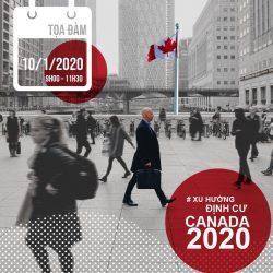 Toạ đàm: ĐỊNH CƯ CANADA DIỆN DOANH NHÂN: XÂY DỰNG TƯƠNG LAI TẠI BRITISH COLUMBIA PHỒN THỊNH