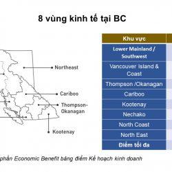 Định cư British Columbia: Khám phá 8 vùng kinh tế tại BC