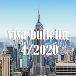 Bản tin thị thực Mỹ visa bulletin tháng 4/2020: Chương trình EB-3 đứng yên