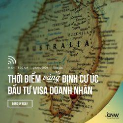 Tư vấn trực tuyến: THỜI ĐIỂM VÀNG ĐỂ ĐẦU TƯ ĐỊNH CƯ ÚC THÀNH CÔNG VỚI VISA DOANH NHÂN