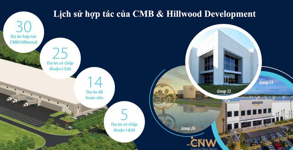 Trung tâm vùng CMB và hợp tác cùng Hillwood Development cho dự án EB-5 thứ 75