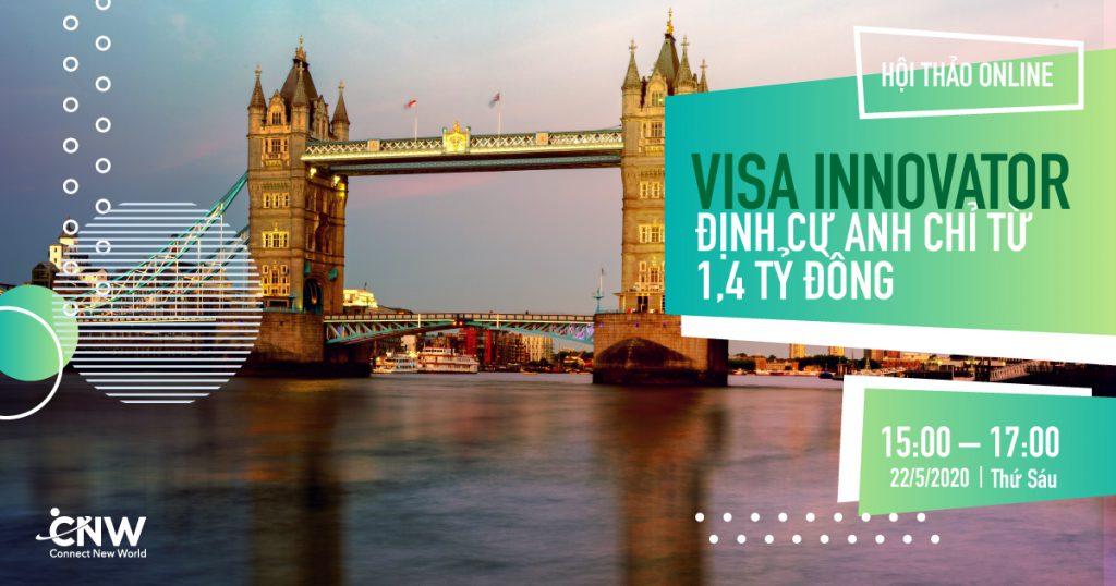 Định cư Anh bằng visa Innovator