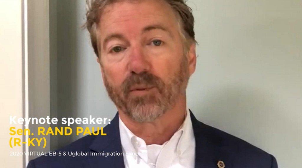 Thượng nghị sĩ Rand Paul chia sẻ quan điểm về chương trình EB-5