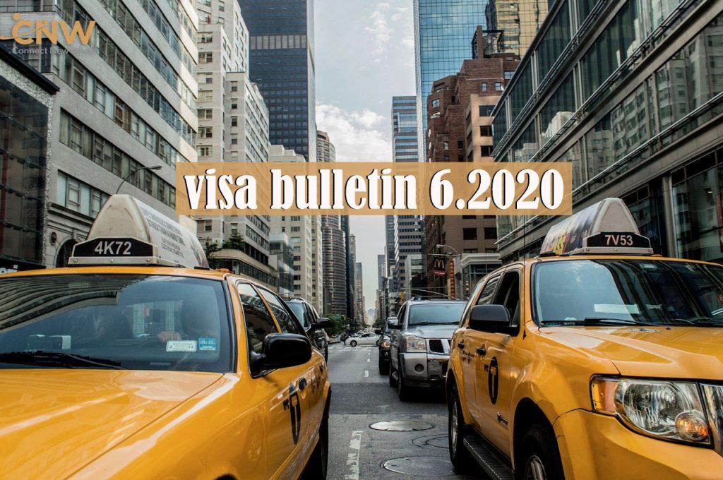 bản tin visa Mỹ 6.2020