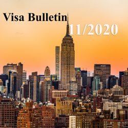 Visa bulletin tháng 11/2020: ra mắt trước thềm bầu cử Mỹ