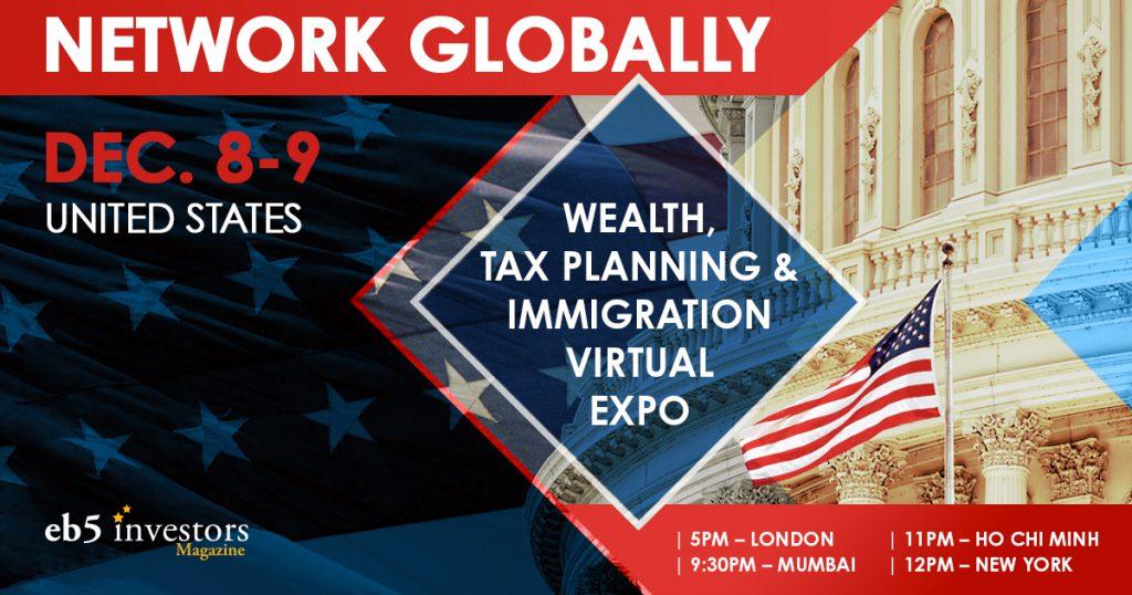 Hội thảo EB-5 Uglobal do Investors Magazine tổ chức theo hình thức trực tuyến vừa diễn ra ngày 8-9/12/2020.