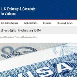 Cập nhật nhanh tin tức hoạt động từ lãnh sự quán Mỹ tại Việt Nam