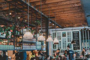 Mô hình nhà hàng, cafe tại Mỹ